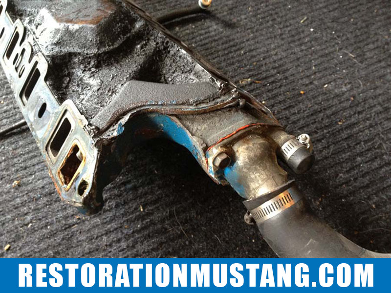 1972 Mustang Fastback Small Block Ford Engine Overhaul: Removing Bolt Ons