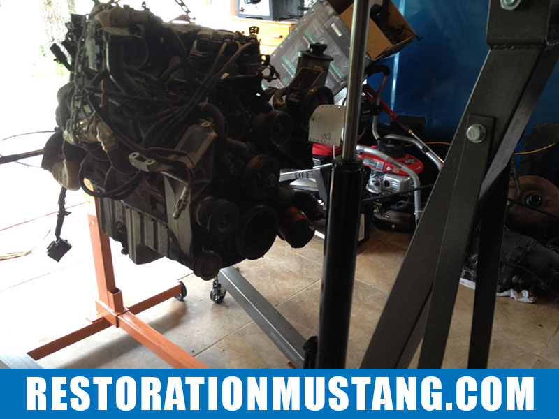 5.0 Roller Motor Found for the Mustang | 96 Explorer Donor | GT40 Heads