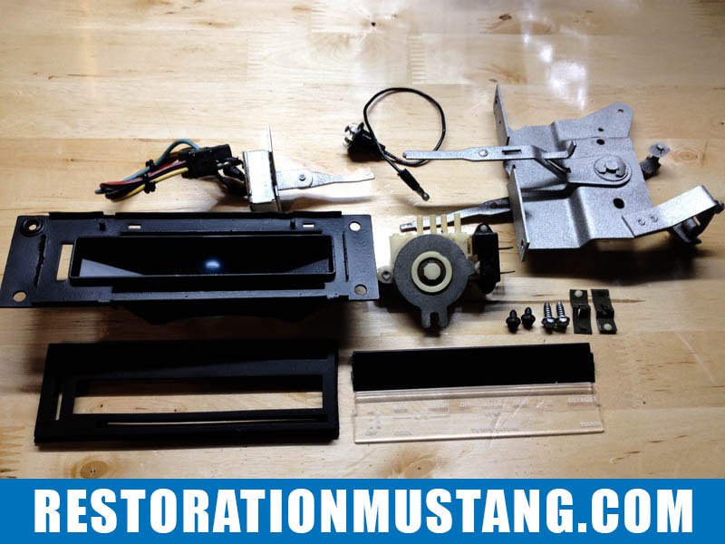 Air Conditioning A/C Heater Control Assembly 71 72 73 Ford Mustang