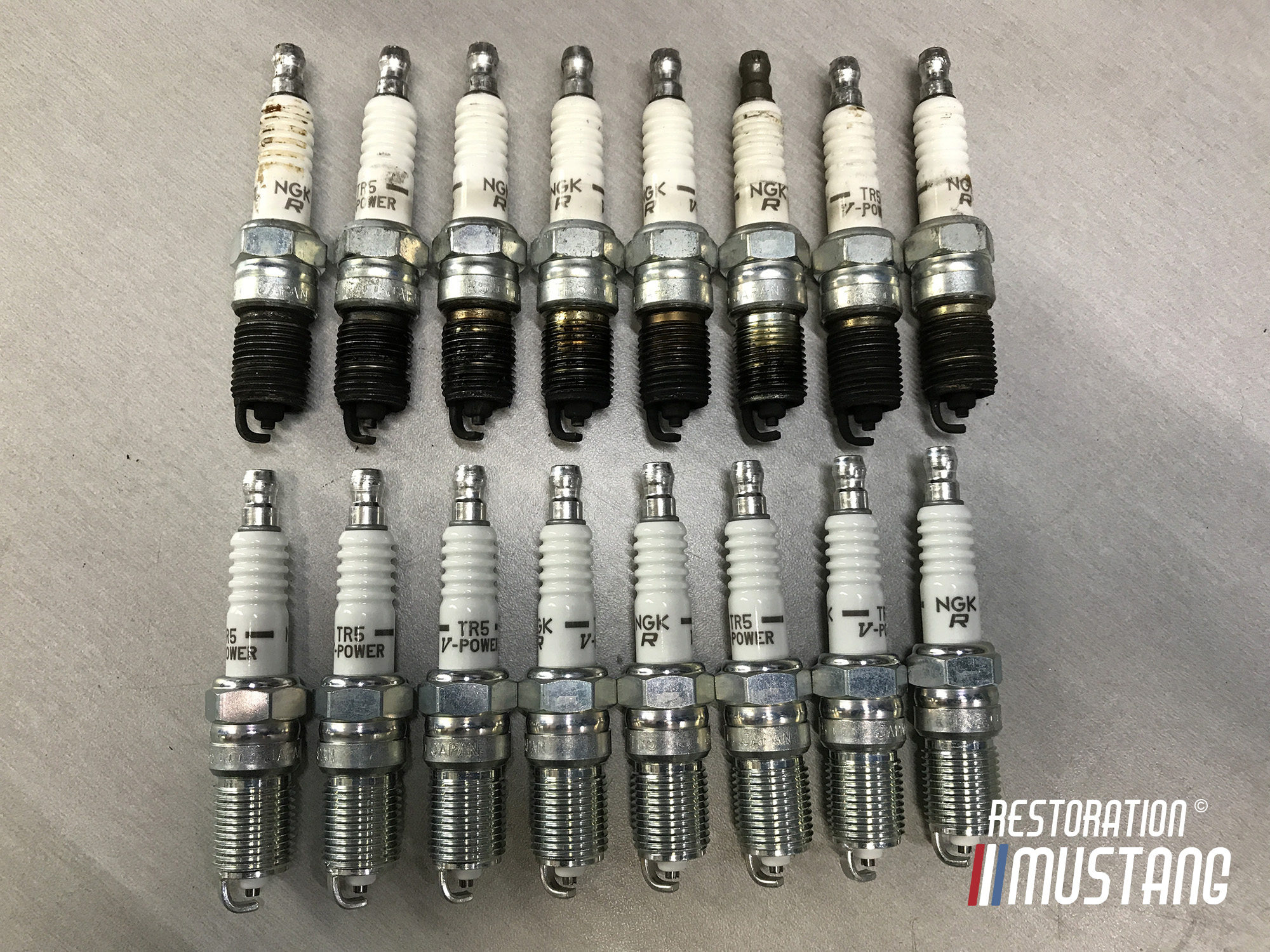 Here's What Fouled Spark Plugs Look Like | Running Too Rich