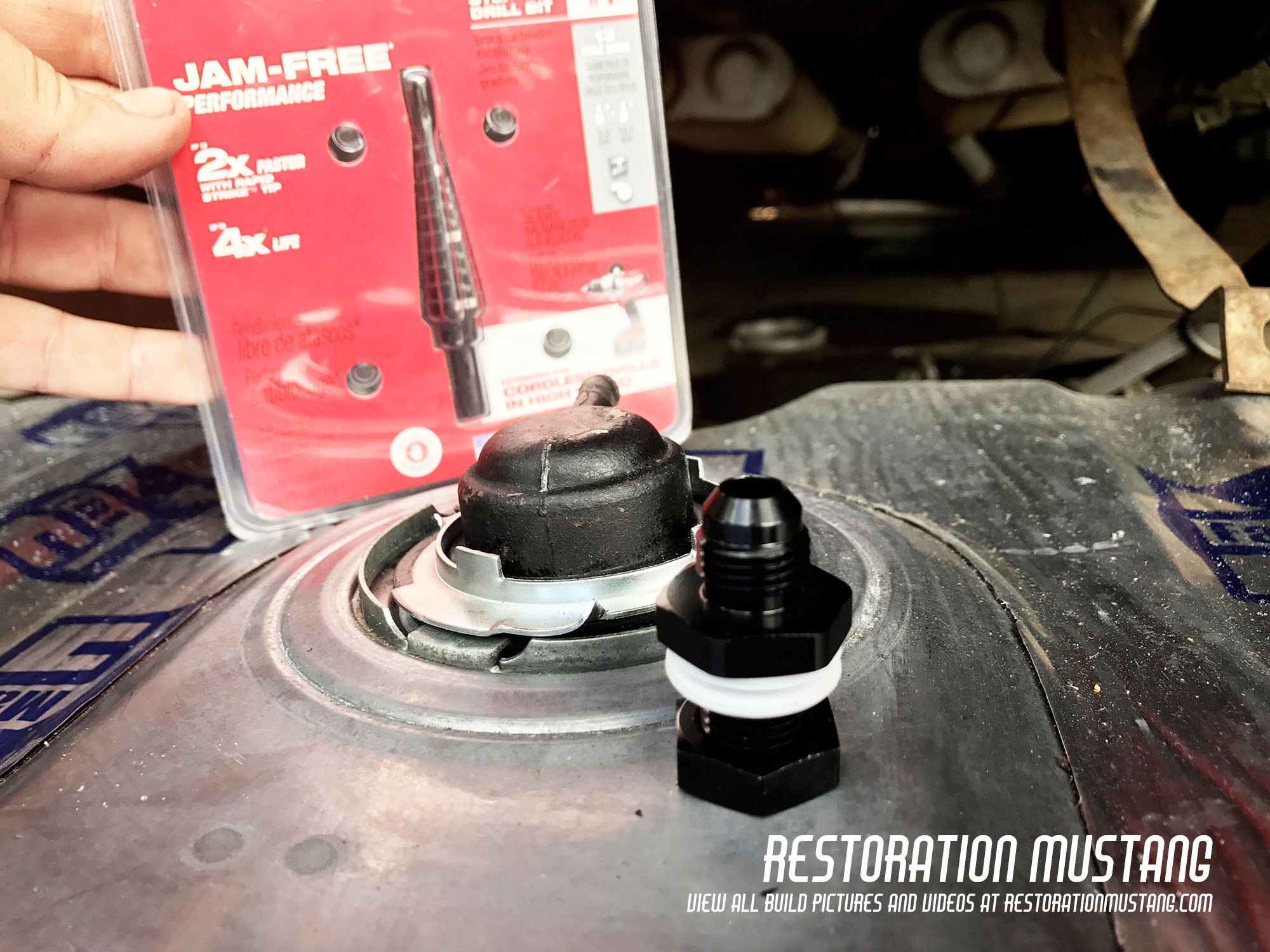 How To Install Holley Sniper Fuel Injection on a Mustang