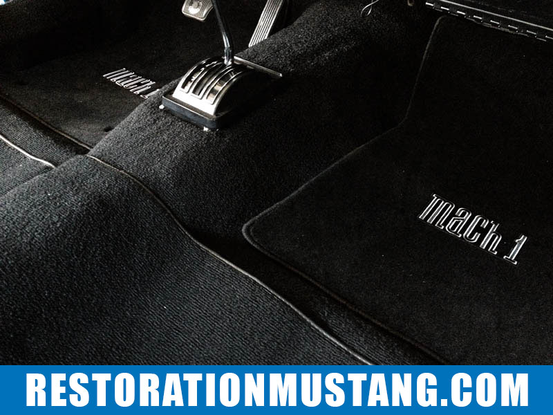Shifter bezel installed for automatic transmission | 71 72 73 Mustang Fastback