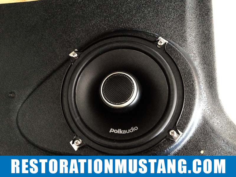 Installing Polk Audio DXI525 Speakers into MP Products Kick Panels 71 72 73 Mustang