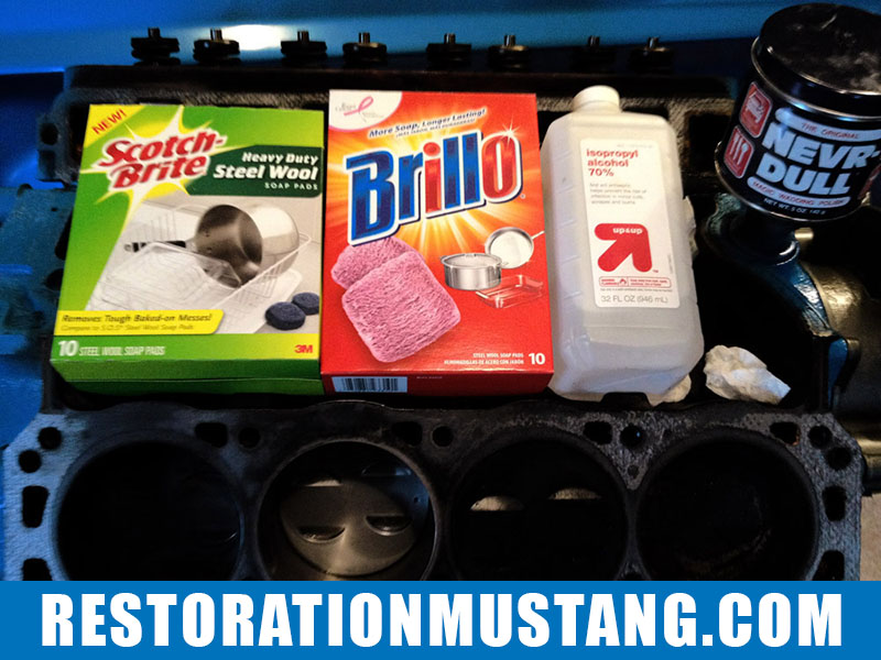 How To Clean The Carbon From Top Of Pistons | Using Only Household Products