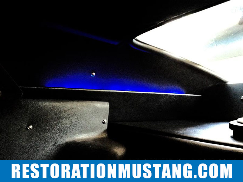 Sail Panels Installation 71 72 73 Mustang Fastback