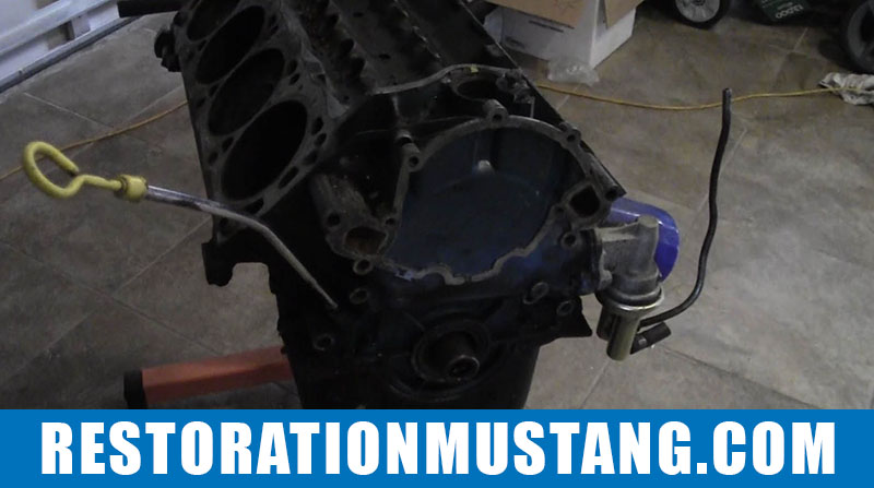 Separating The Small Block 302 Ford Motor & Transmission
